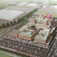 新統合病院イメージ図