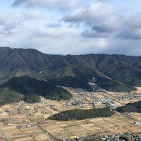 三尾山より